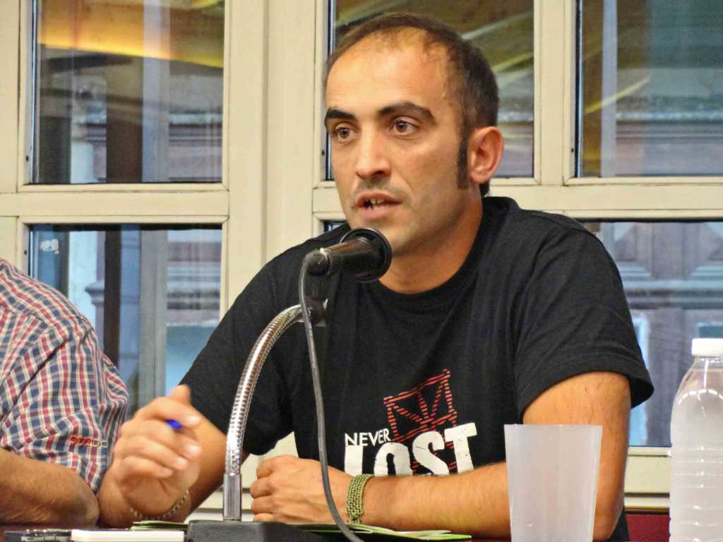 97FM irratia: Emergencia  alimentaria,  la  realidad  que  pretenden  ocultar.  Intervención  de  Unai  Aranguren  (EHNE  Bizkaia)