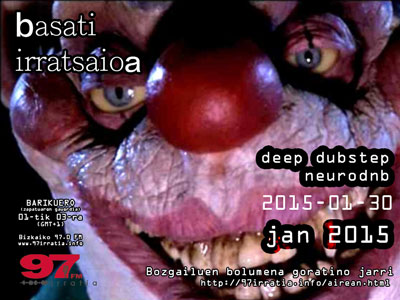 Basati Irratsaioa: Deep dubstep neurofunk collection jan 2015