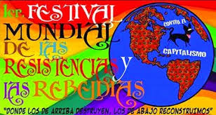 Mar de Fueguitos: El  Festival  Mundial  de  las  Resistencias  y  Rebeldías  alumbra  desde  México  el  mañana  que  será  muy  otro