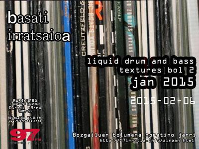 Basati Irratsaioa: Liquid  dnb  textures  2015  bol.2