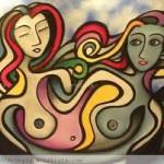 mujeres y arte