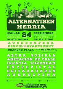 97FM irratia: Alternatiben  Herria  Zuzenean:  Irailak  24