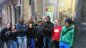 Radio Barrio: Primer  programa,  noviembre  2015