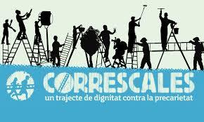 Mar de Fueguitos: Correscales,  la  revuelta  de  las  escaleras  contra  la  precariedad  laboral