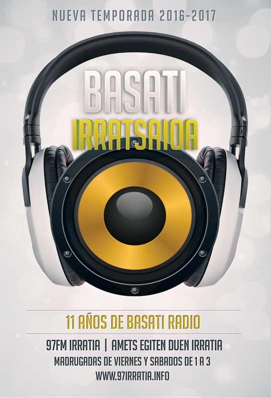 Basati Irratsaioa: Nueva temporada 2016-2017