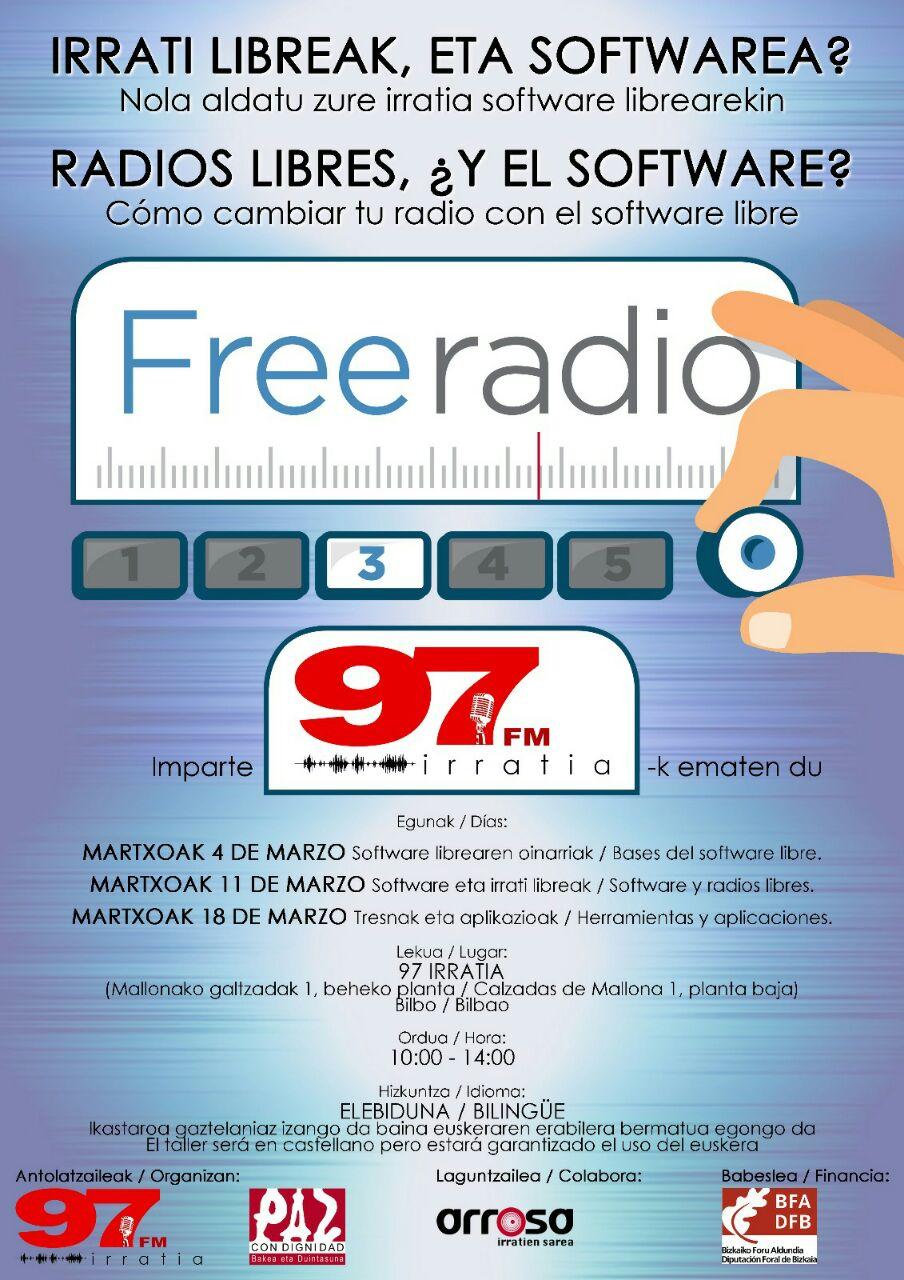 97FM irratia: IRRATI LIBREAK, ETA SOFTWAREA?
