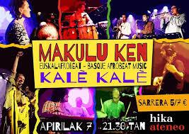 Arañas de Marte: Makulu Ken nos presenta su segundo disco, Kalè Kalè