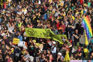 Mar de Fueguitos: Gernika,  contra  las  guerras  y  por  la  acogida