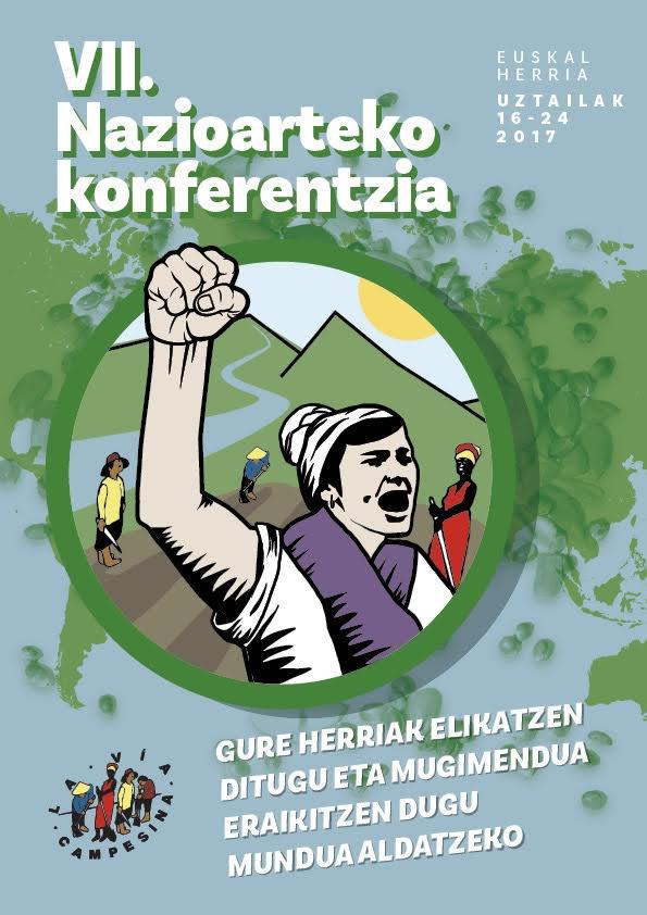 Lur eta Murmur: Viva  La  Via  Campesina!!