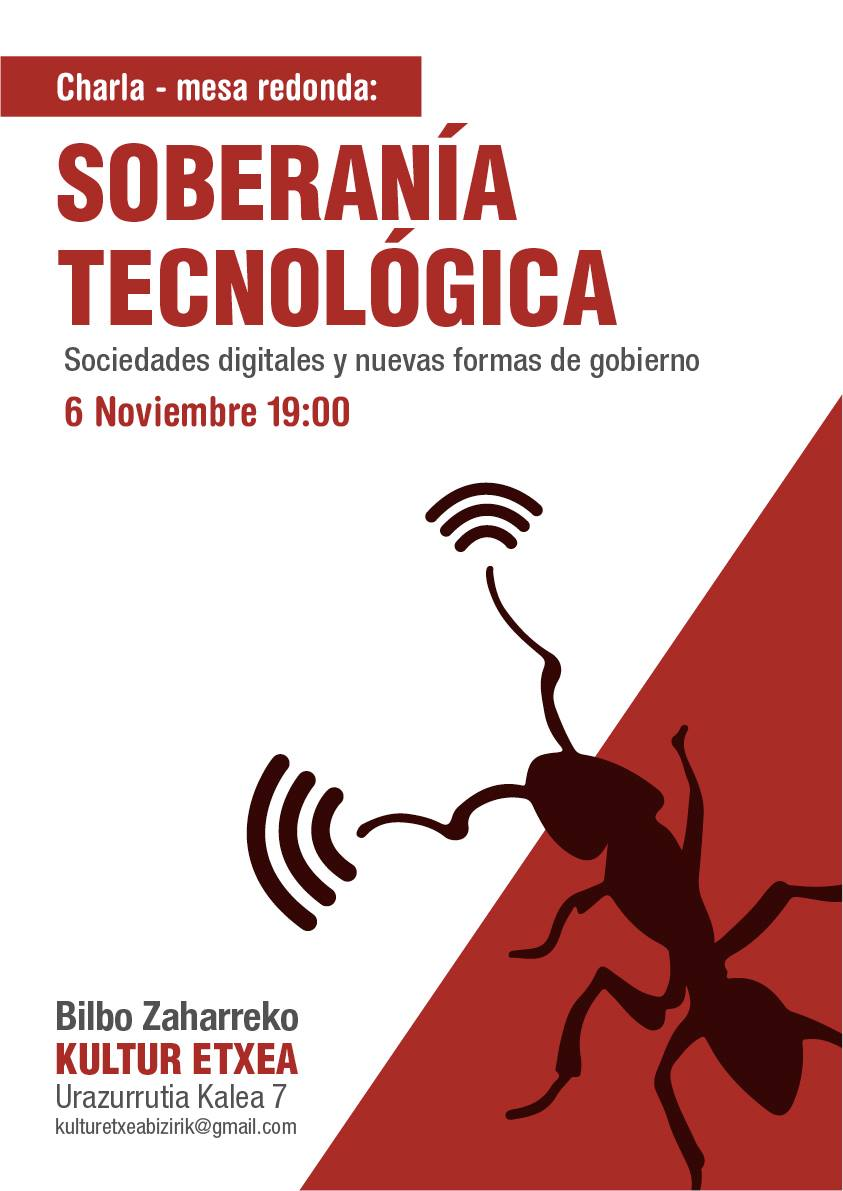 Sin acritud: Soberanía tecnológica en la Kultur etxea