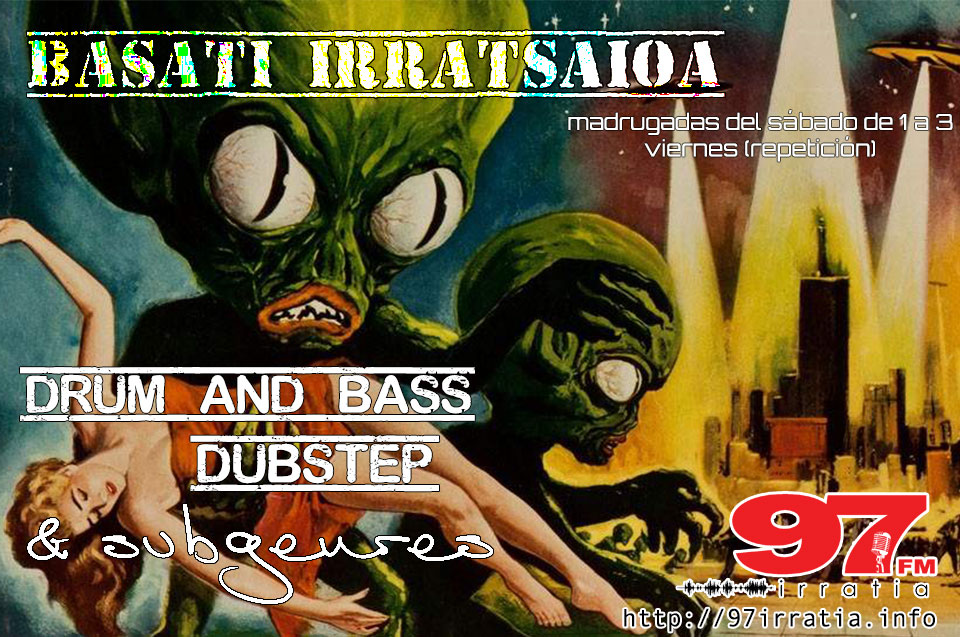 Basati Irratsaioa: Colección  20171118  –  Invasion  of  the  Saucer-Men