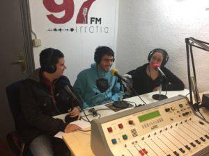 Radio Barrio: entrevista  a  Food  Sharing  y  a  Leire  Etxaniz,    campeona  de  eskupilota