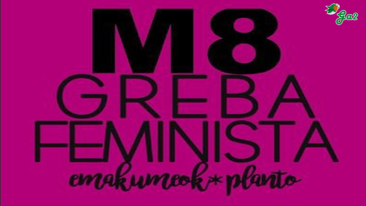 Suelta la olla: 8  de  marzo  huelga