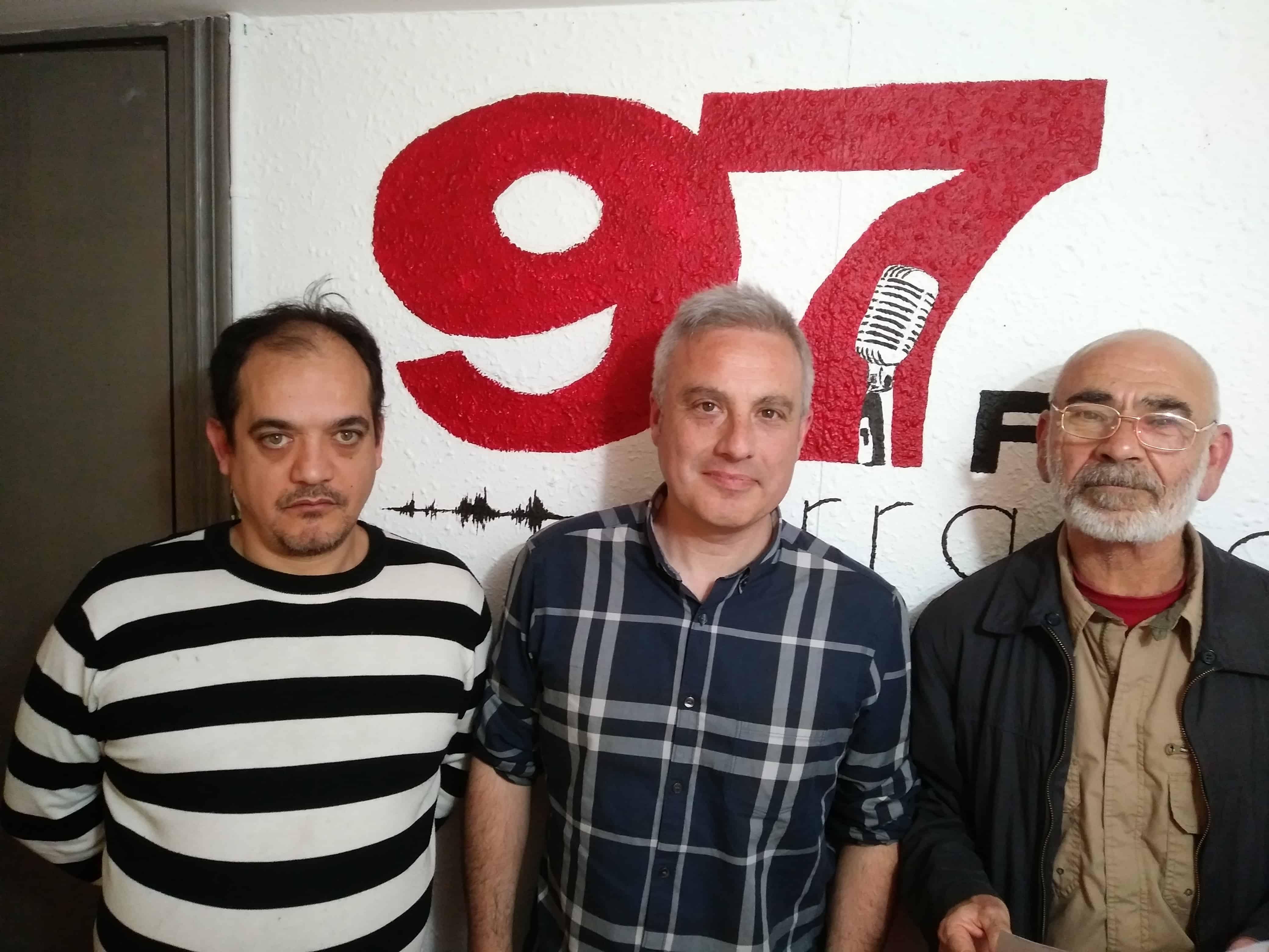 Radio Barrio: En  abril,  EAPN,  Hasiera,  Mago  de  Oz,  Góngora,  Quevedo  y  las  terrazas  de  Bilbao