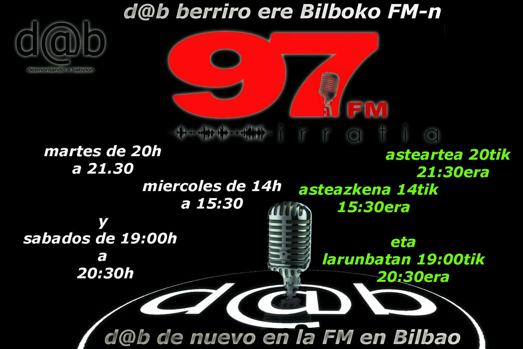 Desmontando a Babylon: d@b radio vuelve a las ondas de Bilbo