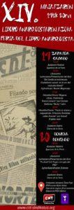 Sin acritud: XIV Feria del libro anarquista