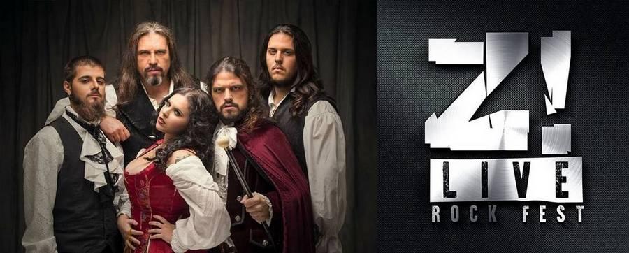 La mirada negra: Entrevistas  con  Saltimbankya  y  la  organización  del  Z!Live  Rock  Fest