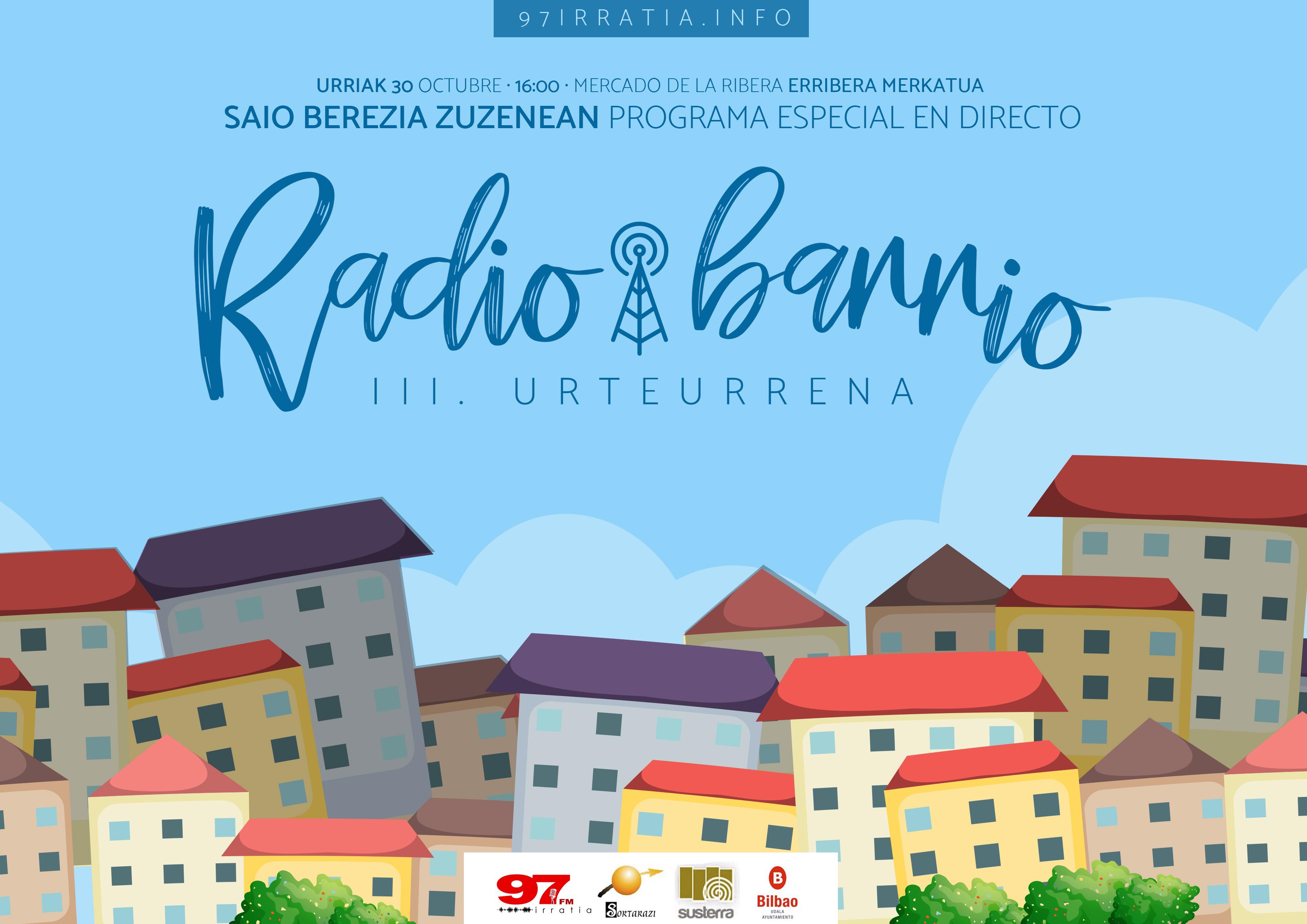 Radio Barrio: programa especial desde el Mercado de la Ribera