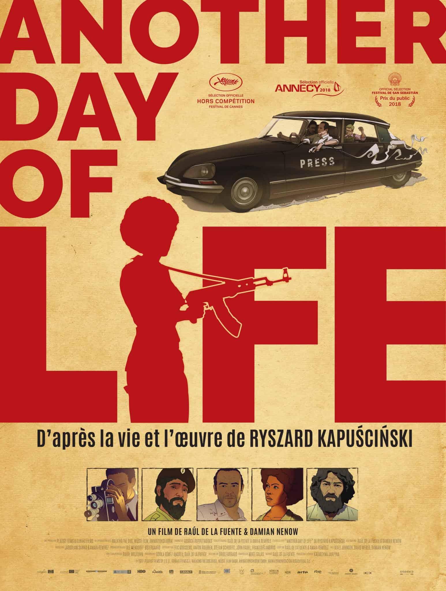 #bidegorritik: Iruñetik zuzenean: Another day of life filma eta Katakrak argitaletxea