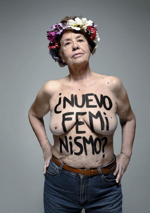Las Feútxas: Victoria  Sendón  en  las  feútxas