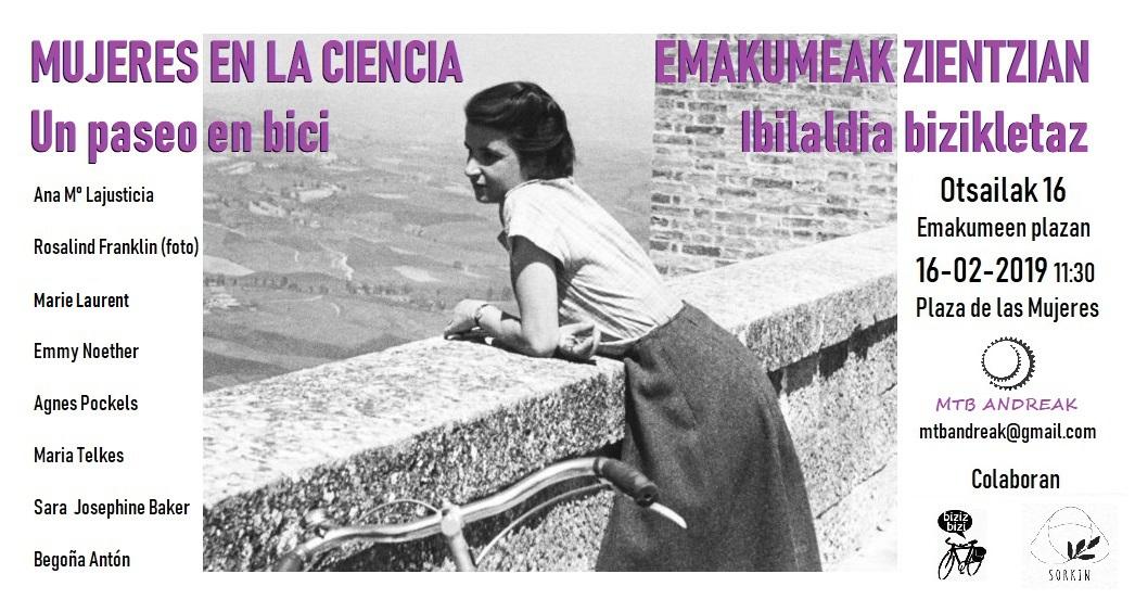 Suelta la olla: Mujer,  ciencia  y  bicicleta