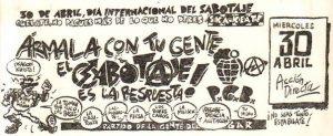 Suelta la olla: Txiki Martínez nos habla del día internacional del sabotaje