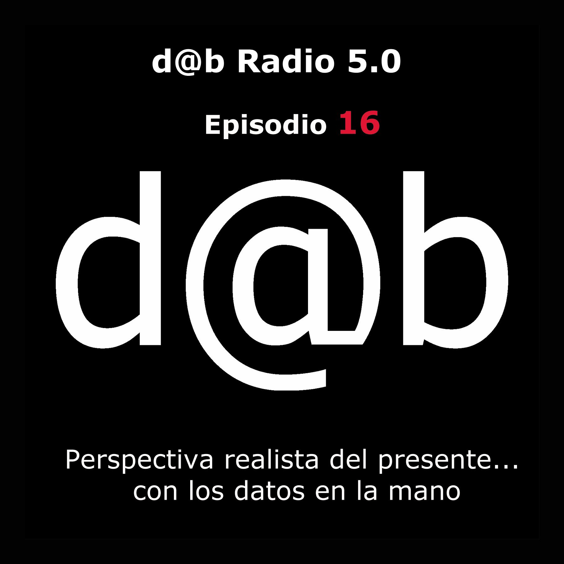 Desmontando a Babylon: d@b Radio 5.0 Episodio 16 – Perspectiva de la realidad con los datos en la mano