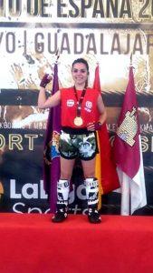 Las Feútxas: Cristina Carrasco campeona de España de King Boxing