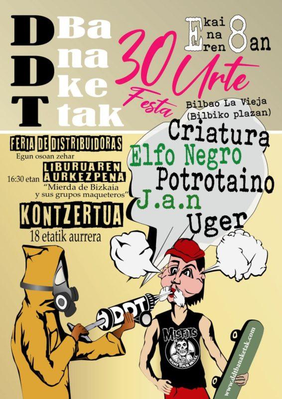 Suelta la olla: DDT  30  aniversario