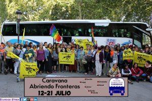 Suelta la olla: Jokin Revilla. Caravanas solidarias y comprometidas para hacer frente a la necropolítica de la UE