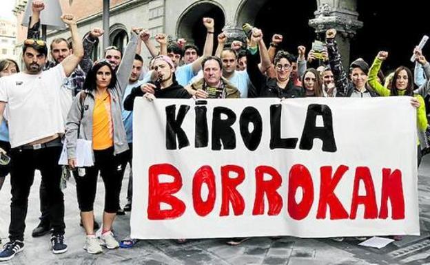 Suelta la olla: Huelga en Bilbao Kirolak