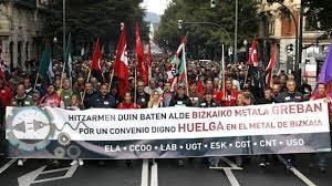 Suelta la olla: La unidad de acción de sindicatos en la huelga del metal en Bizkaia