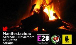 Suelta la olla: La noche de los cristales rotos. Manifestación en Bilbao