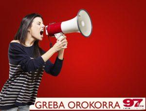 Suelta la olla: Saio berezia: Greba Orokorra