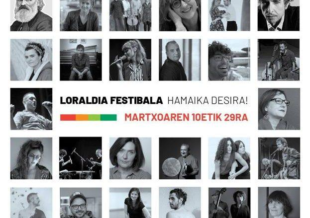 #bidegorritik: Loraldia  jaialdiari  soinu  banda  jarri  diogu
