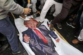 Suelta la olla: Alarmas  mundiales  por  la  política  exterior  de  Trump