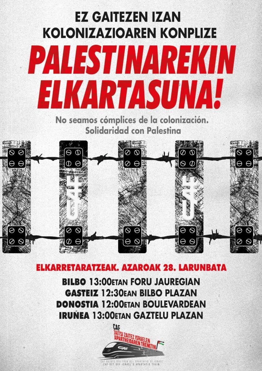 Suelta la olla: Solidaridad con Palestina