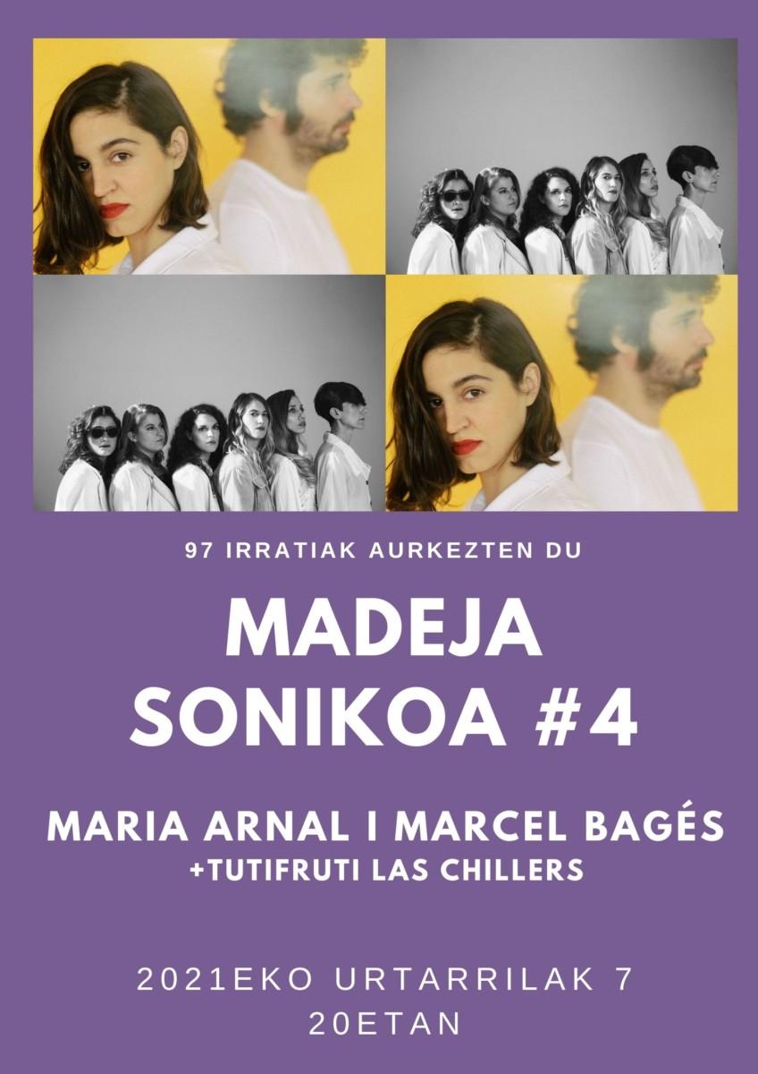 Madeja Sonikoa: #MS4: Maria Arnal i Marcel Bagés + Las Chillers