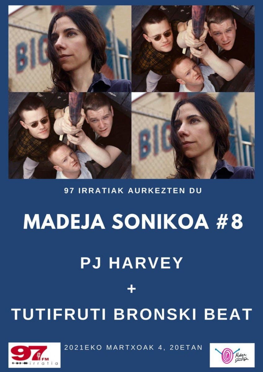 Madeja Sonikoa: #MS8 PJ Harvey + Bronski Beat