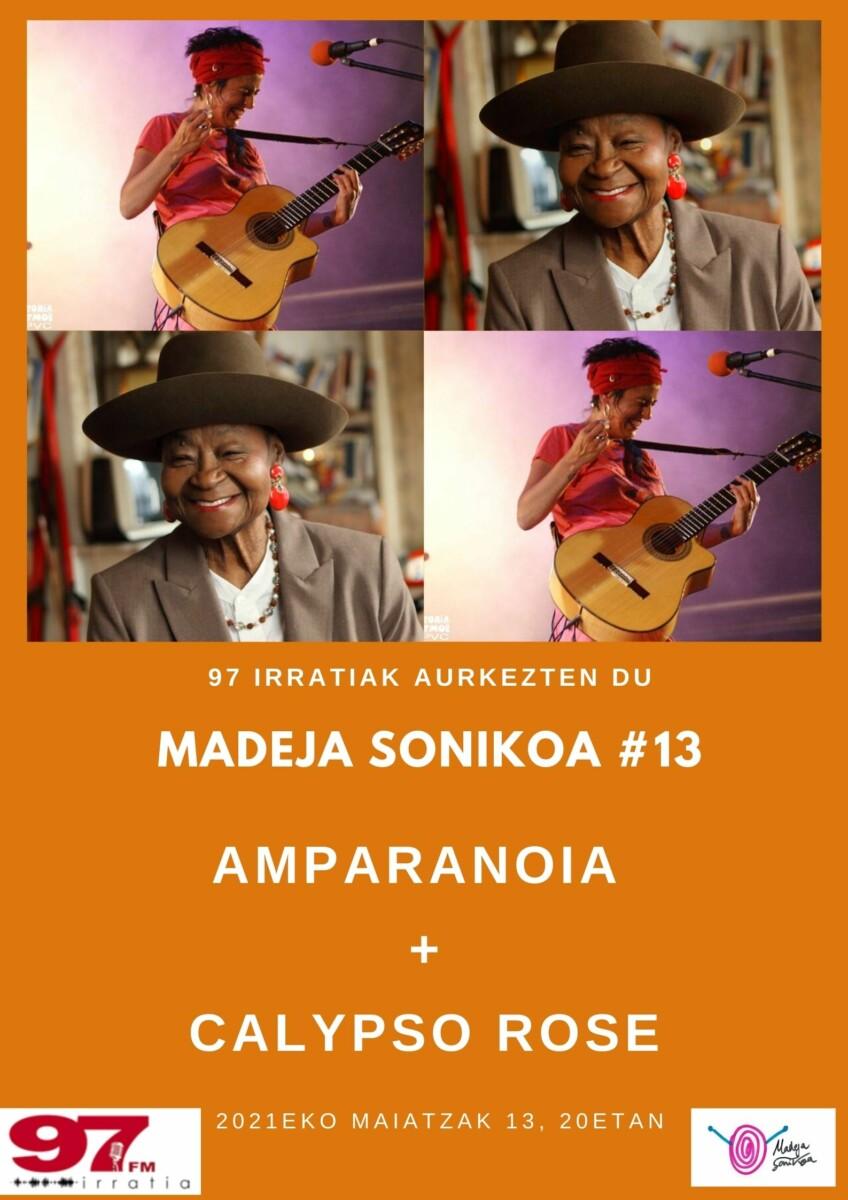 Madeja Sonikoa: #MS13: Amparanoia + Calypso Rose