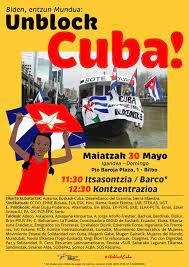 Suelta la olla: Actos contra el bloqueo a Cuba