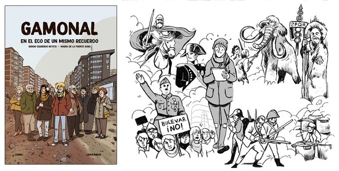 Mar de Fueguitos: la novela gráfica de Gamonal y su movimiento vecinal